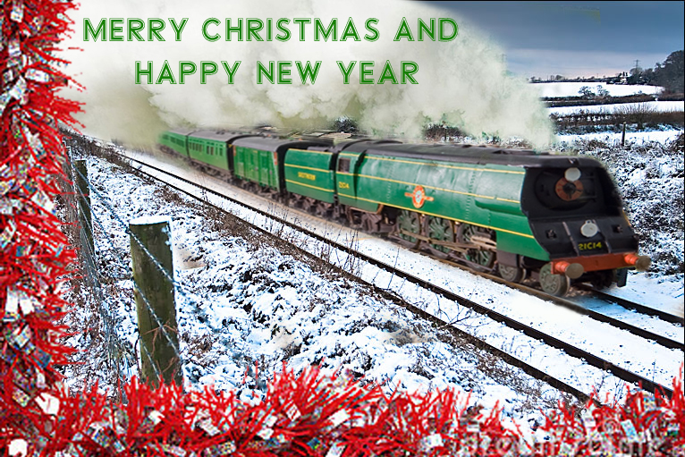 ... surroundings, but merry Christmas and Happy new Year to you all