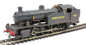 Z Class 0-8-0T No. 957 built from a Milholme white metal
