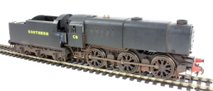 Hornby's C8 weathered