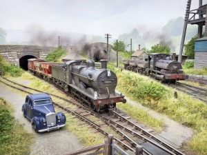 Chris Nevard's wonderful Polbrook Gurney layout is one of the 31 inspirational layouts on show  (picture courtesy C Nevard)