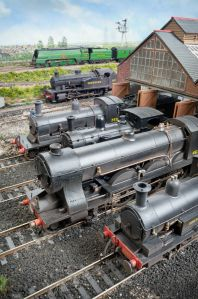 On shed at Fisherton Sarum (picture coutesty C Nevard / Model Rail)