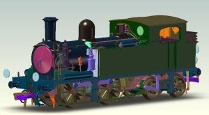 Kernow models K2101 W24 Calbourne
