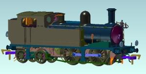 Kernow Models O2 K2105 No. 225