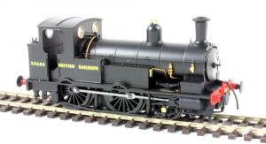 The Kernow model of  30586 in early British Railways Livery with Bulleid Sunshine lettering will be as per my own repainted version