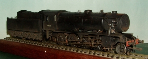 A back dated Bachmann WD 2-8-0 as allocated to the SR in 1946