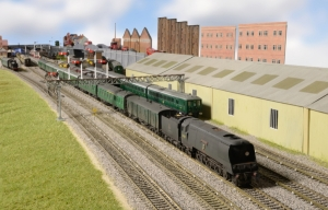 Hornby Magazine's latest layout Twelve Trees Junction a combination of Southern Region steam and EMUs