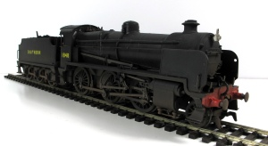 The finished and weathered Bachmann N class as 1848