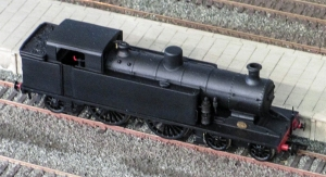 A higher view of the I3 note the lack of smokebox top, and side bufferbeam lamp irons. Picture courtesy and copyright T Teague