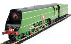 A Model of 21c1 in her original condition built by Stan Chandler from a Millholme kit that can regularly been seen on Fisherton Sarum