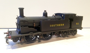 M7 No. 60 is a repainted Hornby model