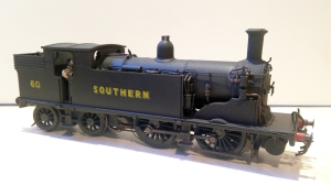 No 60 is Pull Push fitted and will paired with my ex LSWR Emigrant Pull Push set 734