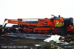 45t Ransomes and Rapier steam crane, picture courtesy Bachmann and copyright Colour-Rail