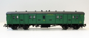 The Hornby Van B is now in malachhite green as number 231. I have also replaced the roof ventilators with white metal castings.
