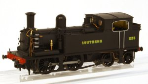 Livery sample of the Kernwo Models O2 K2105 in SR post war black livery as No. 225