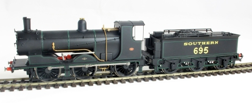 The Hornby R3238 in lined SR 1920/30s black livery