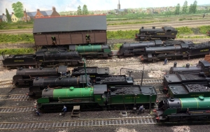 Some 4-6-0s mainly N15s have received some maintenance