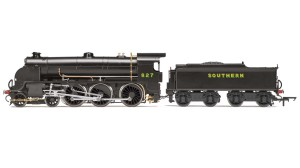 The S15 is being released as No.827 in SR Bulleid Post Black