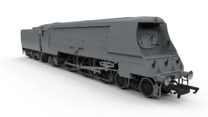 The Series 3 Merchant navy Pacific as 35028 or 35023 with TTS sound. Picture courtesy Hornby
