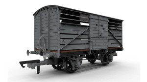Hornby's new SR cattle wagon. Picture courtesy Hornby