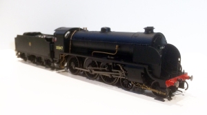 Another view of 30847 the replacement smokebox door number can just be seen.