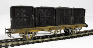 Marc Models Golden Arrow Baggage Truck