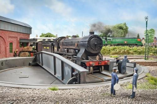 Fisherton Sarum by Graham Muspratt. Photographed for Model Rail, 13 February 2013