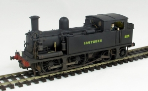 The Kernow Model Rail Centre O2 number 225 now weathered