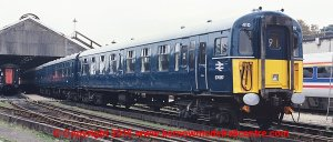 4-TC unit number 410 in BR Blue livery with half yellow ends Premier Charter with etched BR logos as per model 32-644Z