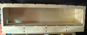 The Tim Horn baseboard after just a couple of hours of assembly