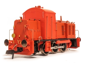 Heljan EP / 3D sample of their proposed Class 07 shunter (version 1). Picture courtesy and copyright A York / BRM