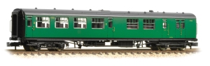 Graham Farish 474-432 Bulleid Semi Open Brake Third number S4109 of Set 84