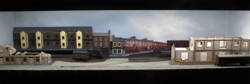 An overview of the Backscene on Canute Road Quay as it stands at the time of this post